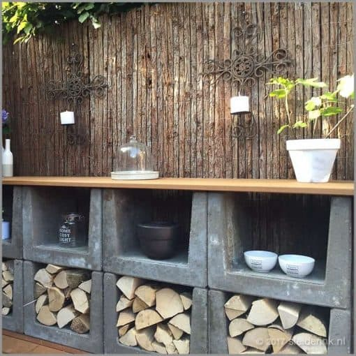 Wood Storage Indoor Firewood Rack