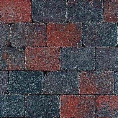 Classic stone Rood-Zwart