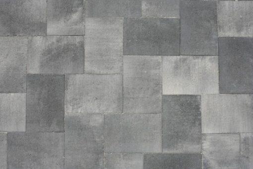 Straksteen Grijs/zwart