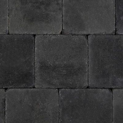 Trommelkassei Grijs/Zwart