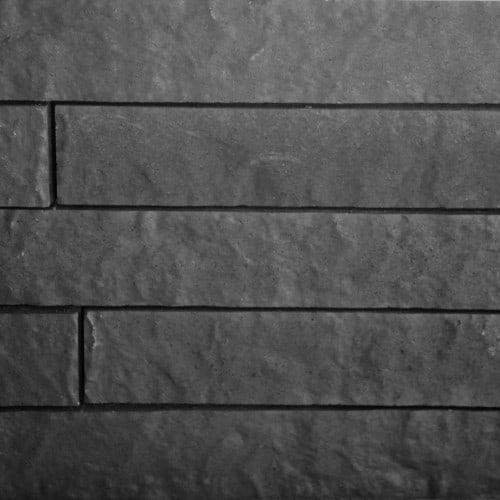 Relief Stapelsteen Black